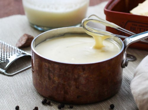 Bechamel con queso
